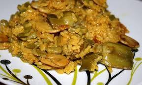 arroz con curcuma